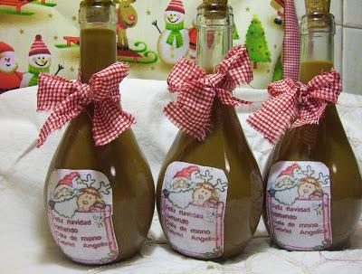 COLA DE MONO Bebida navideña